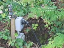 garden electrical outlet
