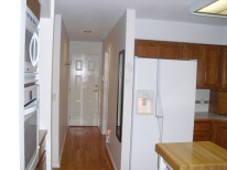 kitchen to garage and laundry