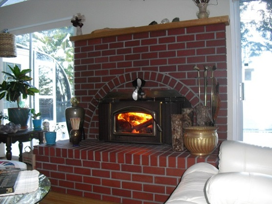 fully inspected fireplace