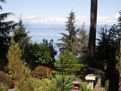 garden, ocean, mountain views for sale